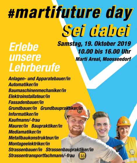 martifuture day 2019 – one month to go!